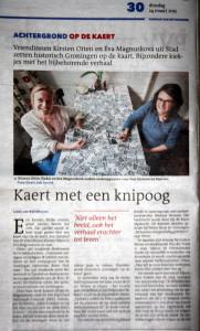 Dagblad van het Noorden, 24 maart 2015